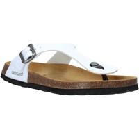 Pantofi Bărbați  Flip-Flops Grunland CB3014 Alb