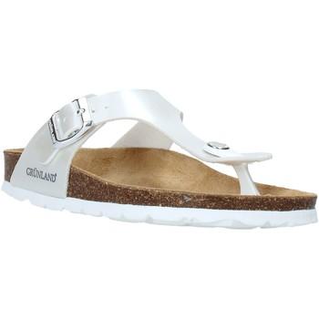 Pantofi Copii  Flip-Flops Grunland CB2419 Alb
