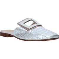 Pantofi Femei Saboti Mally 6886 Argint