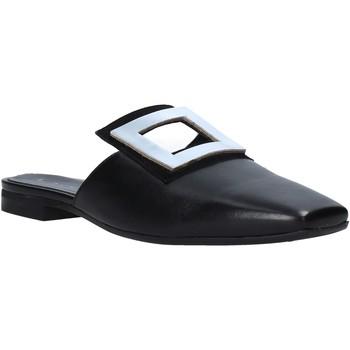 Pantofi Femei Saboti Mally 6886 Negru