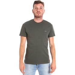 Îmbracaminte Bărbați Tricouri mânecă scurtă Les Copains 9U9011 Verde