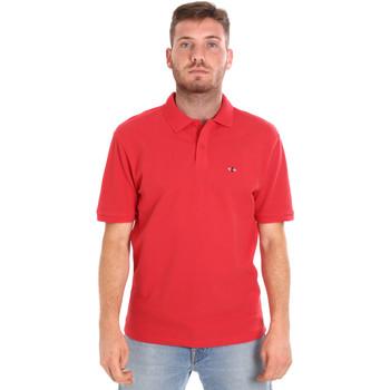 Îmbracaminte Bărbați Tricou Polo mânecă scurtă Les Copains 9U9015 Roșu