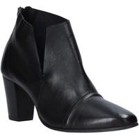 Pantofi Femei Botine Mally 6877 Negru