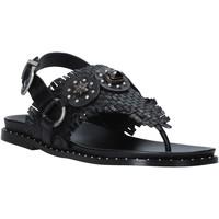 Pantofi Femei Sandale  Mally 6562 Negru
