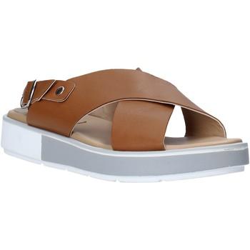 Pantofi Femei Sandale  Mally 6803 Maro