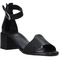 Pantofi Femei Sandale  Mally 6866G Negru