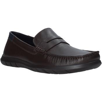Pantofi Bărbați Mocasini Impronte IM01080A Maro