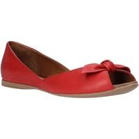 Pantofi Femei Balerin și Balerini cu curea Bueno Shoes N0712 Roșu