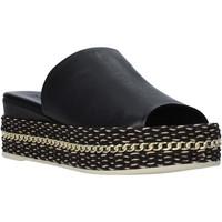 Pantofi Femei Papuci de vară Bueno Shoes Q5905 Negru