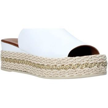 Pantofi Femei Papuci de vară Bueno Shoes Q5905 Alb