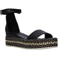 Pantofi Femei Sandale  Bueno Shoes Q5908 Negru