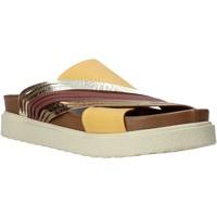 Pantofi Femei Papuci de vară Bueno Shoes CM2206 Galben