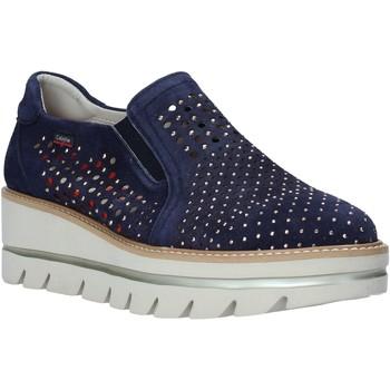 Pantofi Femei Pantofi Slip on CallagHan 14834 Albastru