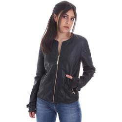 Îmbracaminte Femei Jachete din piele și material sintetic Gaudi 011BD38001 Negru