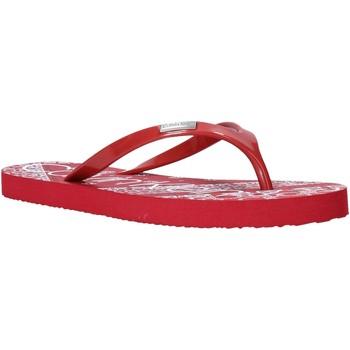 Pantofi Femei  Flip-Flops Calvin Klein Jeans E8853 Roșu