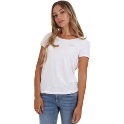 Îmbracaminte Femei Tricouri mânecă scurtă Ea7 Emporio Armani 8NTT64 TJ28Z Alb