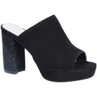 Pantofi Femei Papuci de vară Alma En Pena V18256 Negru