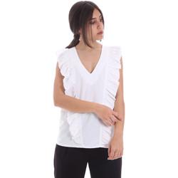 Îmbracaminte Femei Topuri și Bluze Gaudi 011BD45031 Alb