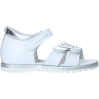 Pantofi Fete Sandale  Nero Giardini E021463F Alb