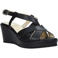 Pantofi Femei Sandale  Esther Collezioni ZB 018 Negru