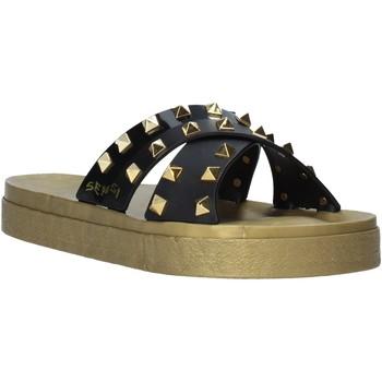 Pantofi Femei Papuci de vară Sensi 4390/PY Negru