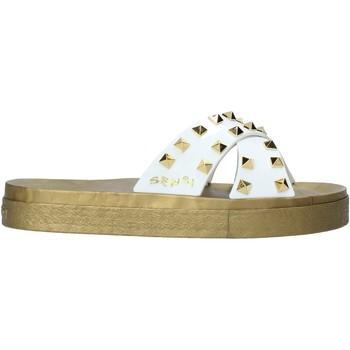 Pantofi Femei Papuci de vară Sensi 4390/PY Alb