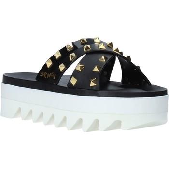 Pantofi Femei Papuci de vară Sensi 4380/LX Negru