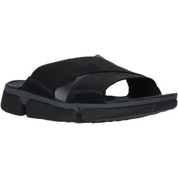 Pantofi Bărbați Papuci de vară Clarks 26139563 Negru