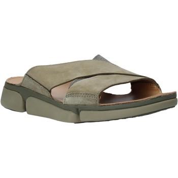 Pantofi Bărbați Papuci de vară Clarks 26139561 Verde