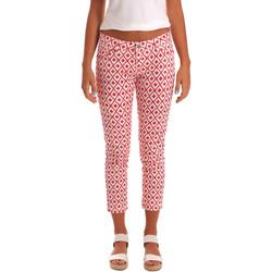 Îmbracaminte Femei Pantaloni trei sferturi Gaudi 811BD25013 Alb