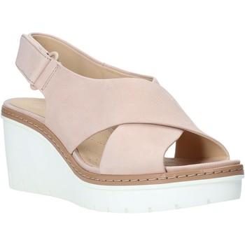Pantofi Femei Sandale  Clarks 26141165 Roz