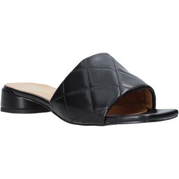 Pantofi Femei Papuci de vară Grace Shoes 971Y001 Negru