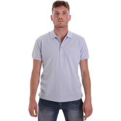 Îmbracaminte Bărbați Tricou Polo mânecă scurtă Navigare NV82108 Albastru
