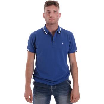 Îmbracaminte Bărbați Tricou Polo mânecă scurtă Navigare NV82113 Albastru
