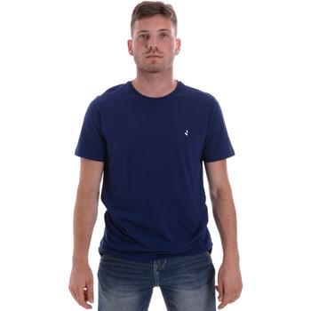 Îmbracaminte Bărbați Tricouri mânecă scurtă Navigare NV31126 Albastru