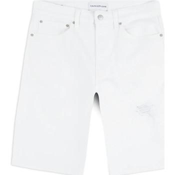 Îmbracaminte Bărbați Pantaloni scurti și Bermuda Calvin Klein Jeans J30J314643 Alb