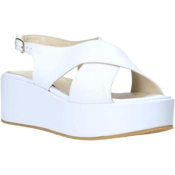 Pantofi Femei Sandale  Esther Collezioni Z039 Alb