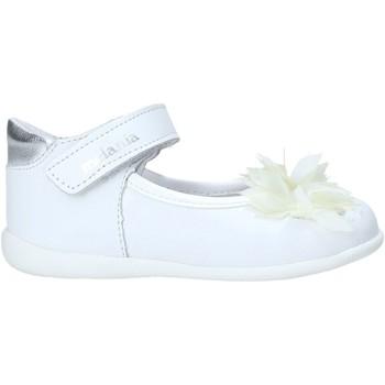 Pantofi Fete Balerin și Balerini cu curea Melania ME0122A0S.B Alb