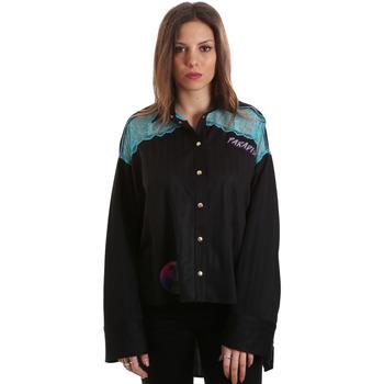 Îmbracaminte Femei Cămăși și Bluze Versace B0HVB60310623899 Negru