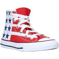 Pantofi Copii Pantofi sport stil gheata Converse 667794C Alb