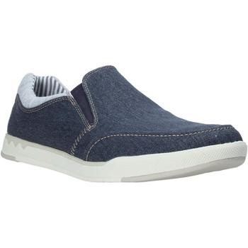 Pantofi Bărbați Pantofi Slip on Clarks 26132626 Albastru