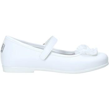 Pantofi Fete Balerin și Balerini cu curea Melania ME2059D0S.A Alb