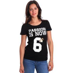 Îmbracaminte Femei Tricouri mânecă scurtă Gaudi 811FD64056 Negru