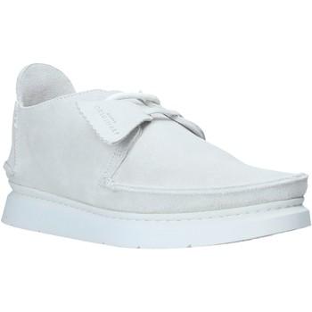 Pantofi Bărbați Pantofi Derby Clarks 26142684 Alb