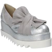 Pantofi Femei Espadrile Grace Shoes 1304 Gri