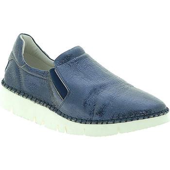 Pantofi Femei Pantofi Slip on Mally 5711 Albastru