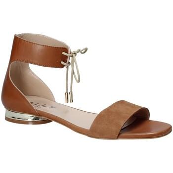 Pantofi Femei Sandale  Mally 5826 Maro