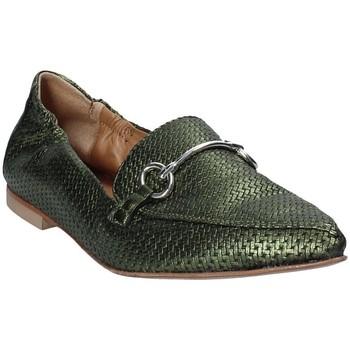 Pantofi Femei Mocasini Mally 6264 Verde
