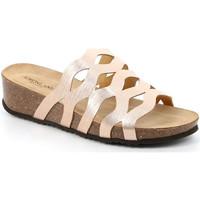 Pantofi Femei Papuci de vară Grunland CB2490 Bej