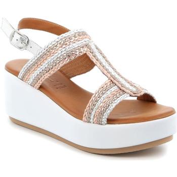 Pantofi Femei Sandale  Grunland SA2489 Argint